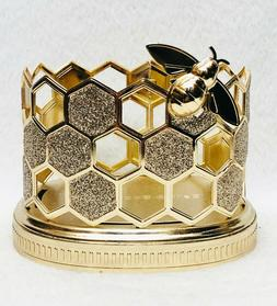 1 Bath & Body Works GOLD HONEYCOMB BEE Foaming Deep Cleansin