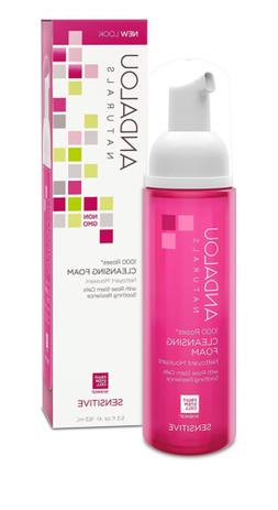 Andalou Naturals 1000 Roses Cleansing Foam, 5.5 Ounce