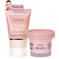 100ml Facial Cleansing Foam & Mask White Collagem Bright & F