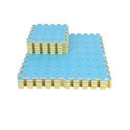 16 Pieces of Waterproof Children Foam Mats Baby Foam Puzzle