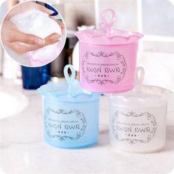 1x Pink Blue Body Cleanser Foam Maker Cup Bubble Foamer Home