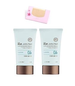 The Face Shop Natural Sun Eco Sebum Control Moisture Sun 50