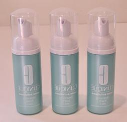 3 Clinique Acne Solutions Cleansing Foam Cleanser 1.7 Oz 50