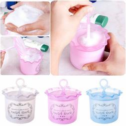 3 Color Portable Body Shampoo Facial Clean Cleanser Foam Bub