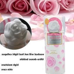 3D Rose Cleansing Foam Beauty Whip Soap Foam Face Wash Foami
