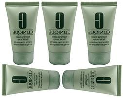 5x Clinique Foaming Sonic Facial Soap 1oz / 30ml, Totals 5oz