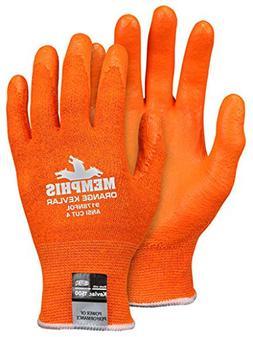 Memphis Gloves 9178NFOXLPR Glove X-Large Hi-Viz Orange Light