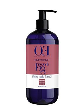 EO Shower Gel, Rose and Chamomile, 16 oz