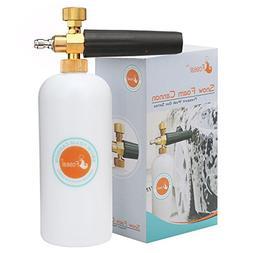 Foseal Jet Wash Pressure Washer Adjustable Foam Cannon Snow
