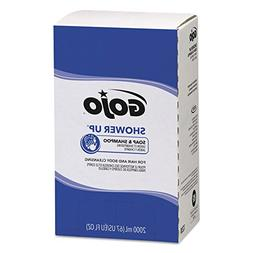 GOJO PRO TDX SHOWER UP Soap & Shampoo, Herbal Fragrance, 200