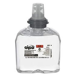 GOJO E2 Foam Sanitizing Soap, Fragrance Free, 1200 mL Foam S