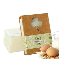 KOBWA Goat's milk Handmade Essential Oil Acne Soap Whitening