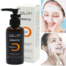 MELAO Herbal Vitamin C Cleanser Face Wash Cleansing Foam Fac