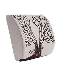 Office Comfortable Nursing Lumbar Cushion Memory Foam Pillow