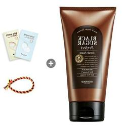 Skinfood Black Sugar Perfect Scrub Foam 6.35oz + Nose Pack 2