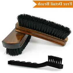 "TAKAVU 6.7"" Leather Brush For Car Seats - Durable Premium Qu"