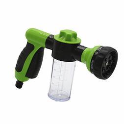TAKPART Pressure Garden Hose Nozzle Foam Gun Car Wash 8 Patt