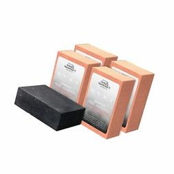 SAPO Organic Bamboo Charcoal Soap Bar  - 100% Natural US Ha