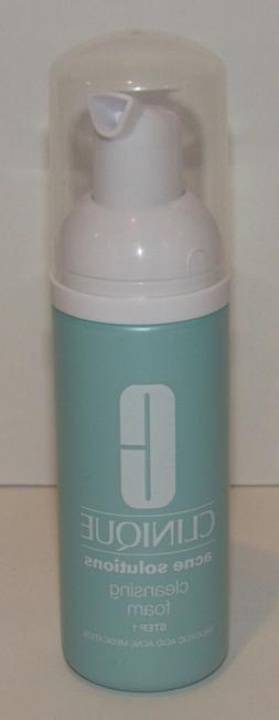 Clinique Acne Solutions Cleansing Foam Cleanser 1.7 Oz 50 mL
