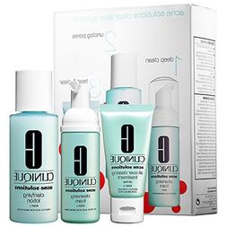 Clinique Acne Solutions Clear Skin Starter Kit Cleansing Foa