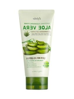 ESFOLIO Aloe Vera Soothing Cleansing Foam, Protection for St