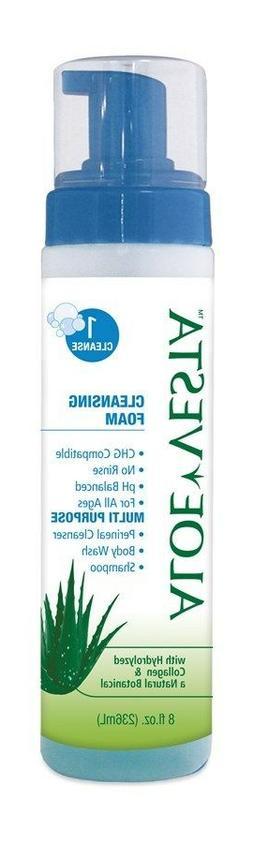 Convatec Aloe Vesta Cleansing Foam - 8 oz - #51325208