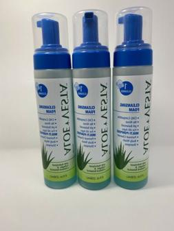 ConvaTec Aloe Vesta Cleansing Foam 8 oz Pack of 3 No Rinse C