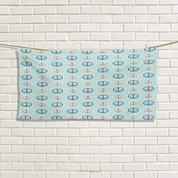 Chaneyhouse Anchor,Travel Towel,Summer Holiday Adventure Hor