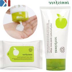 Apple Seed Deep Cleansing Foam 150ml, Cleansing Tissue 15 Sh