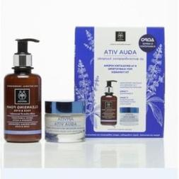 Apivita Aqua Vita Box Set - Aqua Vita Advanced Moisture Face