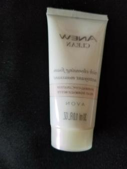 avon clean cleansing foam normal combination