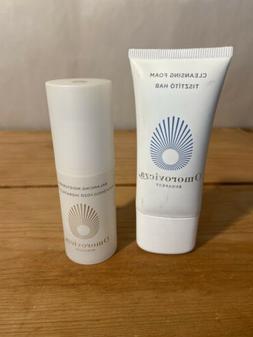 Omorovicza Balancing Facial Moisturiser 0.7oz/30mL & Cleansi
