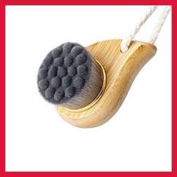 Rosette Bamboo Charcoal Fiber Face Brushes Soft Facial Clean