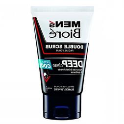 Biore Men's Foam Double Scrub Ultra Cool Formula 100 g.