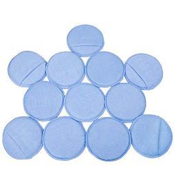 LTWHOME Blue Microfiber Wax Polish Applicator Cleaning Detai