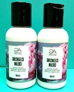 "AG Hair Cleansing Cream Foam Free Shampoo 2 oz ""Pack of 2"""