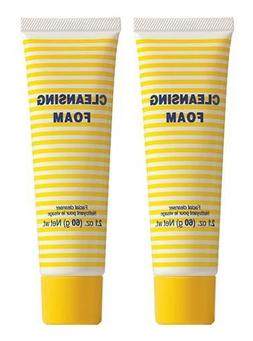 DHC Cleansing Foam 2 Pack, 2.1 oz. Net wt. x 2, includes 4 f