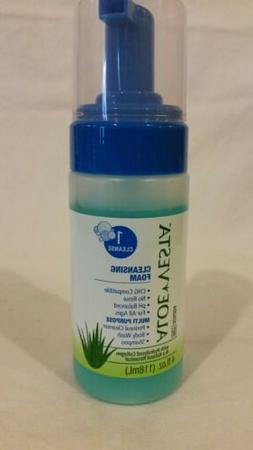 Aloe Vesta Cleansing Foam 4 oz., 1 bottle, NEW