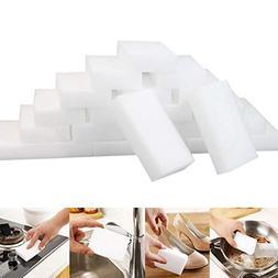 Wensy Clearance 25Pcs White Magic Sponge Eraser Cleaning Mel