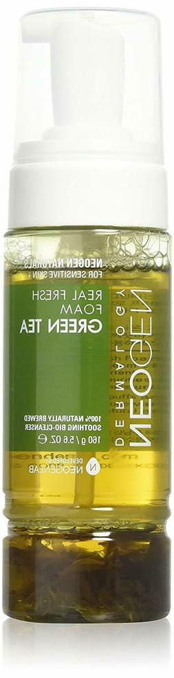 dermalogy real fresh foam green tea 160g