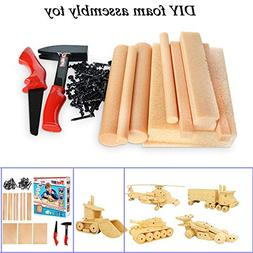 USHOT DIY Puzzle Tool Set Foam Assembly Educational Funny To