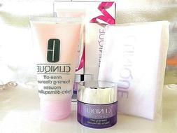 CLINIQUE Double Cleansing Detox Set/Foaming Cleanser/Take th