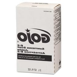GOJO E2 Sanitizing Lotion Soap, Fragrance-Free, Clear, 2000