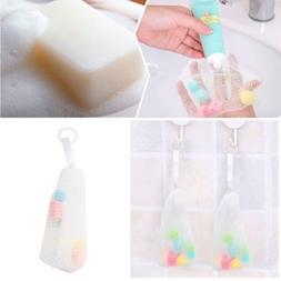 Facial Body Cleansing Soap Foaming Bubble Net Helper Mesh Cl