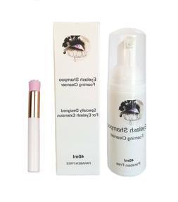 TBC Lash Bath Shampoo Foam Cleanser Eyelash Extension Permin