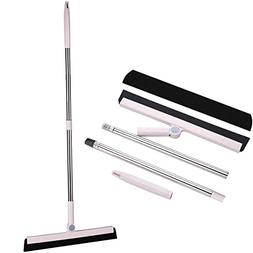 MEIBEI Foam Rubber Drying Blade Floor Squeegee with 39.4 Inc