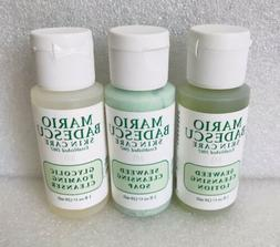 MARIO BADESCU Foaming Cleansing , Lotion & Soap Set of 3 Tra
