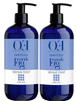 EO French Lavender Shower Gel With Lavender, Coconut Oil, Or