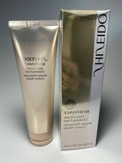 Genuine Shiseido Benefiance Extra Creamy Cleansing Foam 4.4
