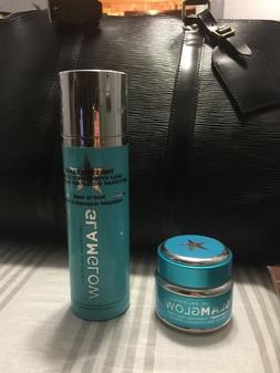 glam glow mask with glam glow face wash new 1.7